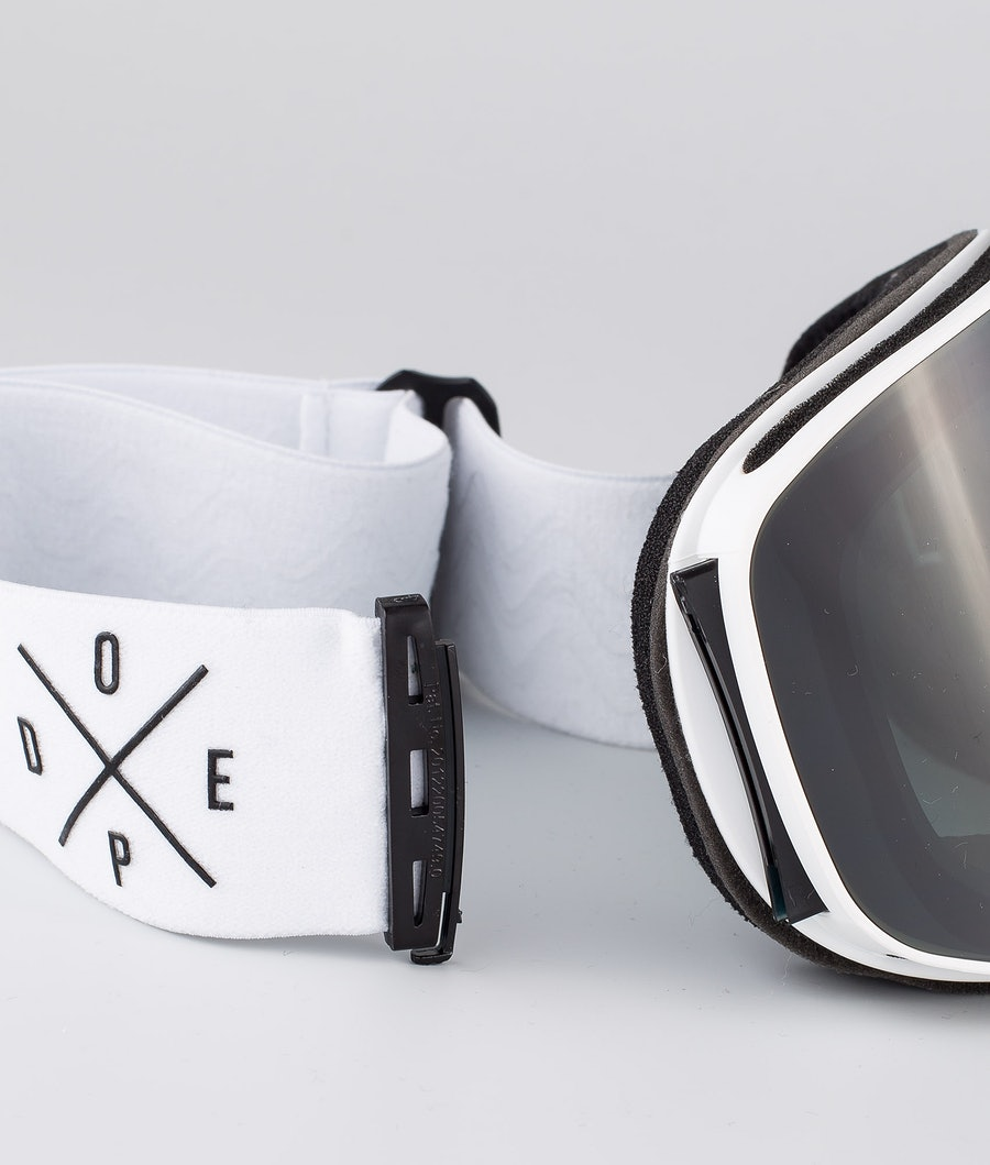 Dope Flush 2X-UP Skibrille Damen White W/White Black