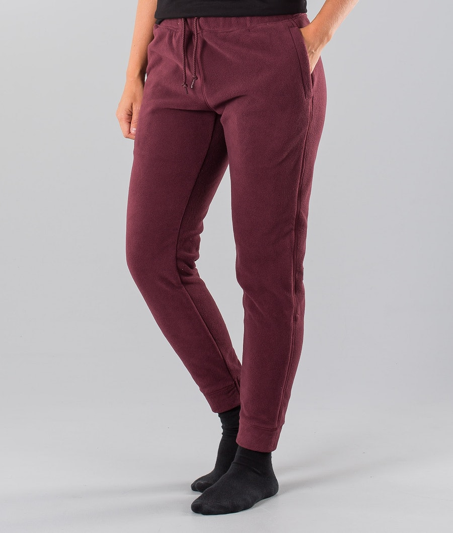 Dope Cozy Pantalon Burgundy