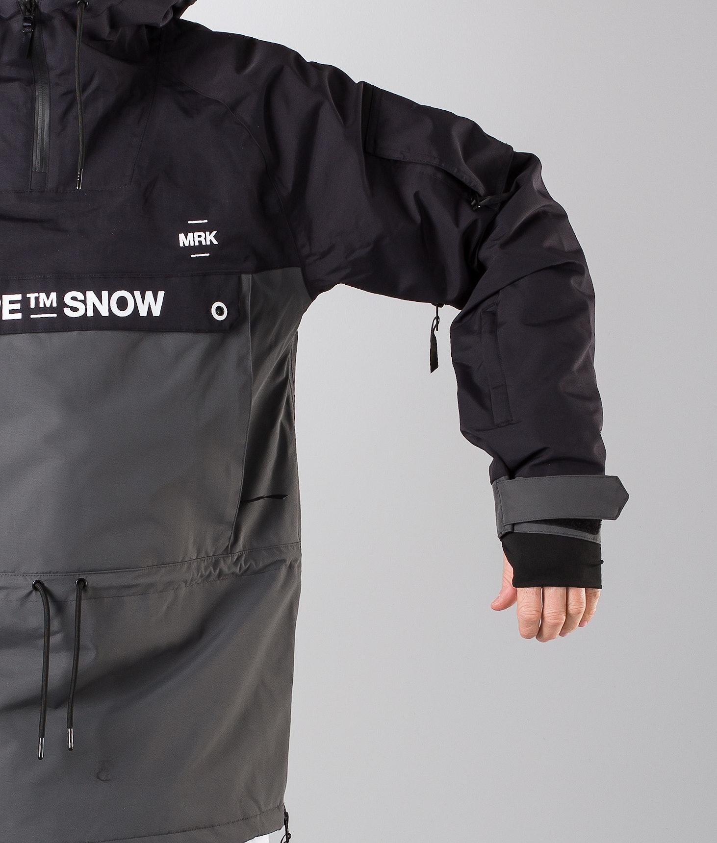 ef269402e9f Dope Annok DSC Ski Jacket Black Dark Grey II - Ridestore.com