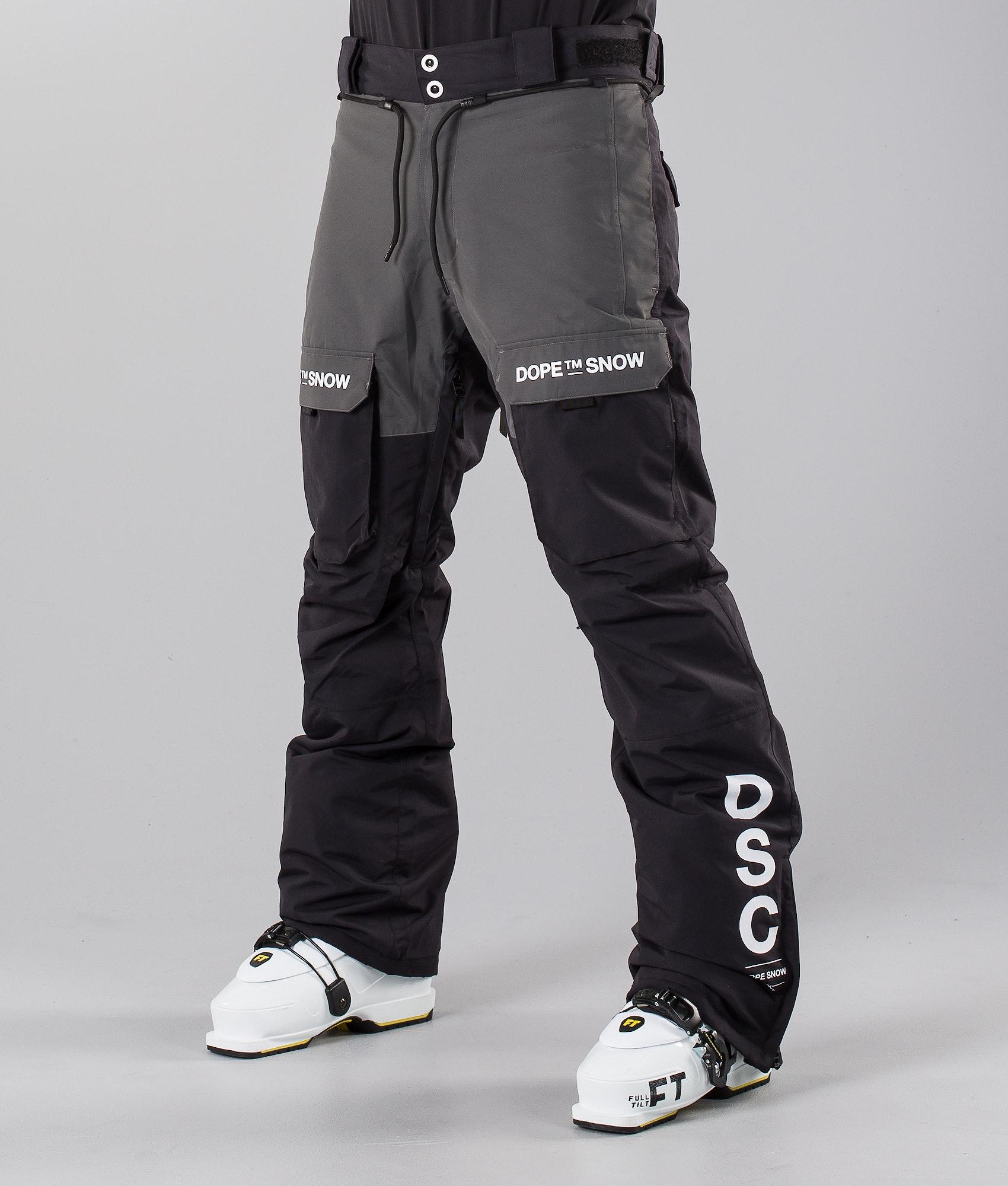 39e22ca8bd0 Dope Poise DSC Ski Pants Black Dark Grey II - Ridestore.com