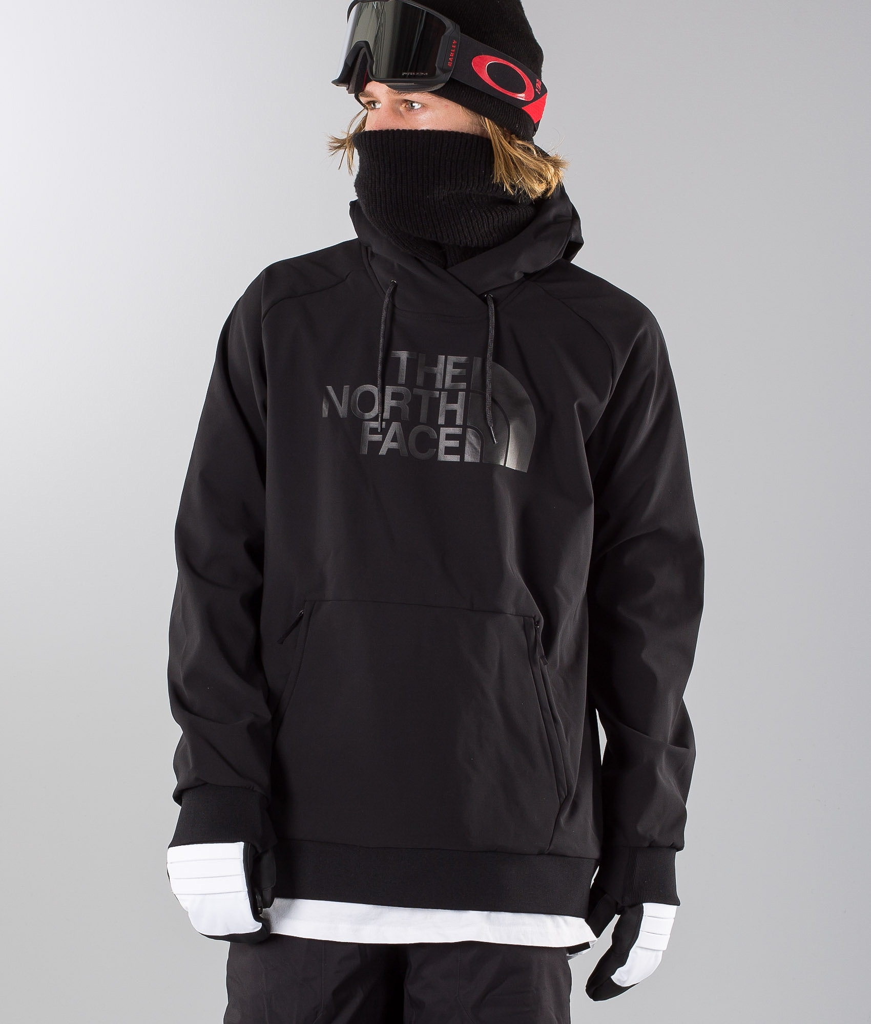 The North Face Tekno Logo Hoodie Ski Jacket Black - Ridestore.com 95ffbfdabb2c