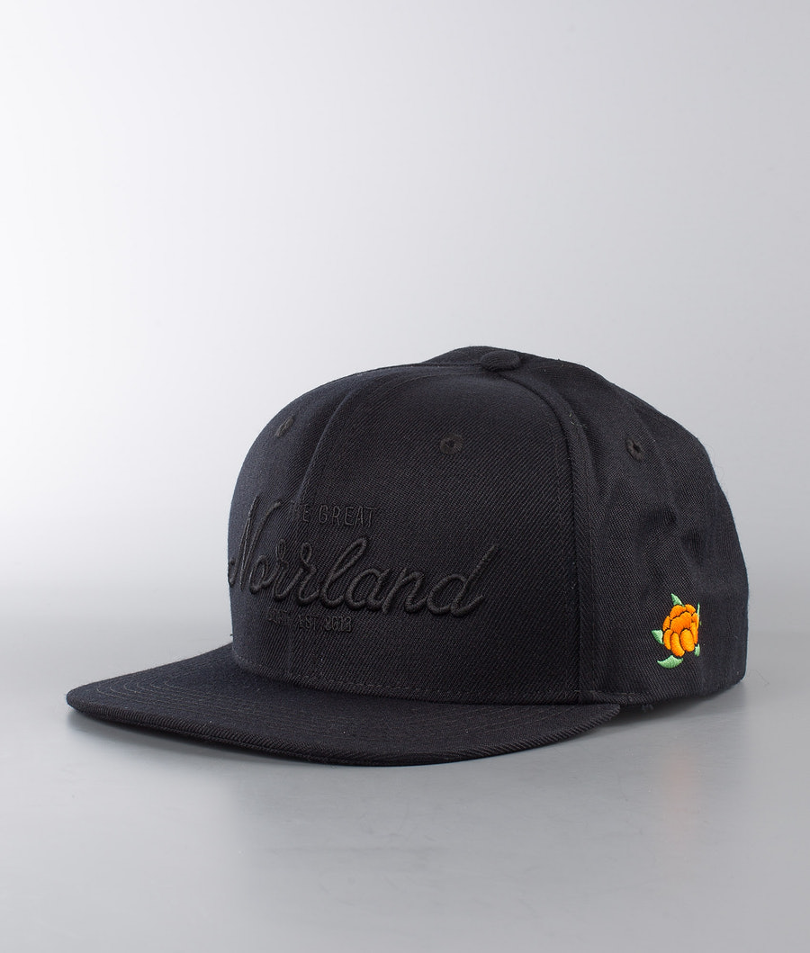 SQRTN Great Norrland Cap All Black
