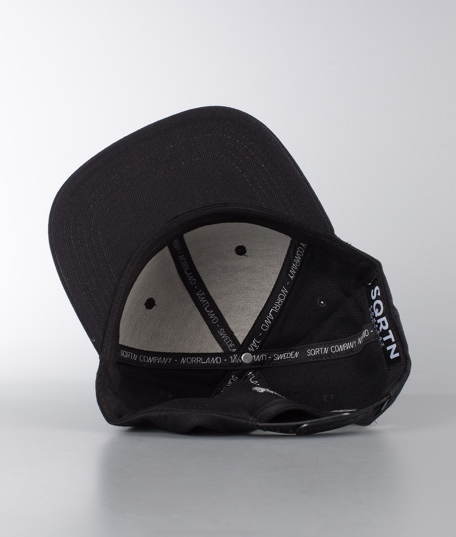 SQRTN Great Norrland Caps All Black