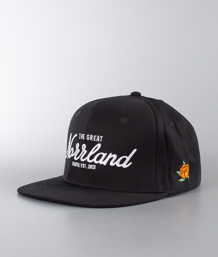 SQRTN Great Norrland Cap Black