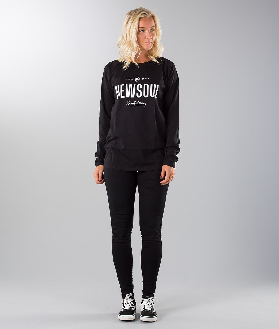 Newsoul Dust Longsleeve Dame Black