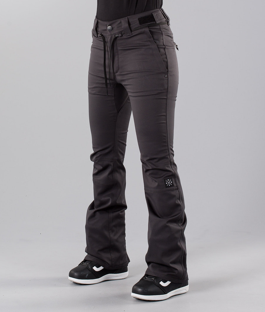 Dope Tigress 18 Pantalon de Snowboard Dark Grey