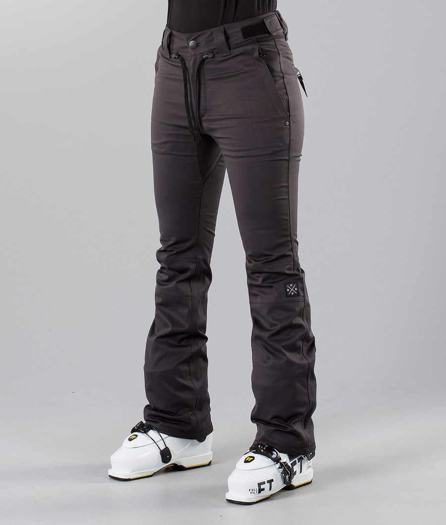 Dope Tigress 18 Pantalon de Ski Dark Grey