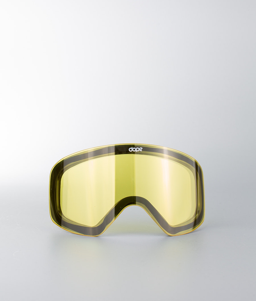 Dope Spare Lens Flush Extra Glas Snow Yellow