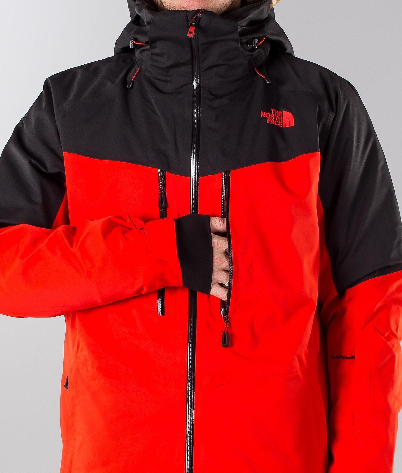 83618828f The North Face Chakal Ski Jacket Red/Black - Ridestore.com