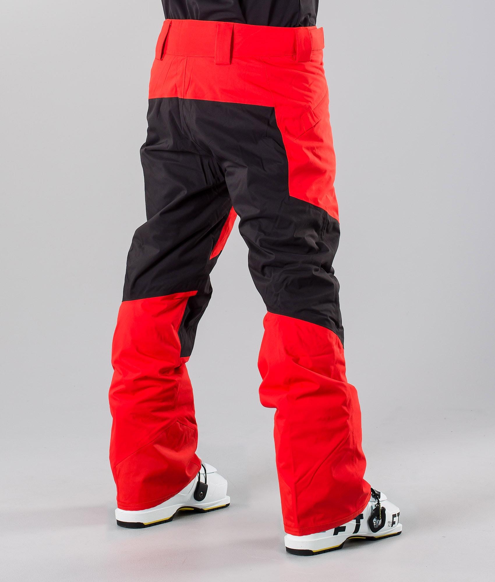 e1fd27d9b8b The North Face Presena Ski Pants Fieryred/Black - Ridestore.com