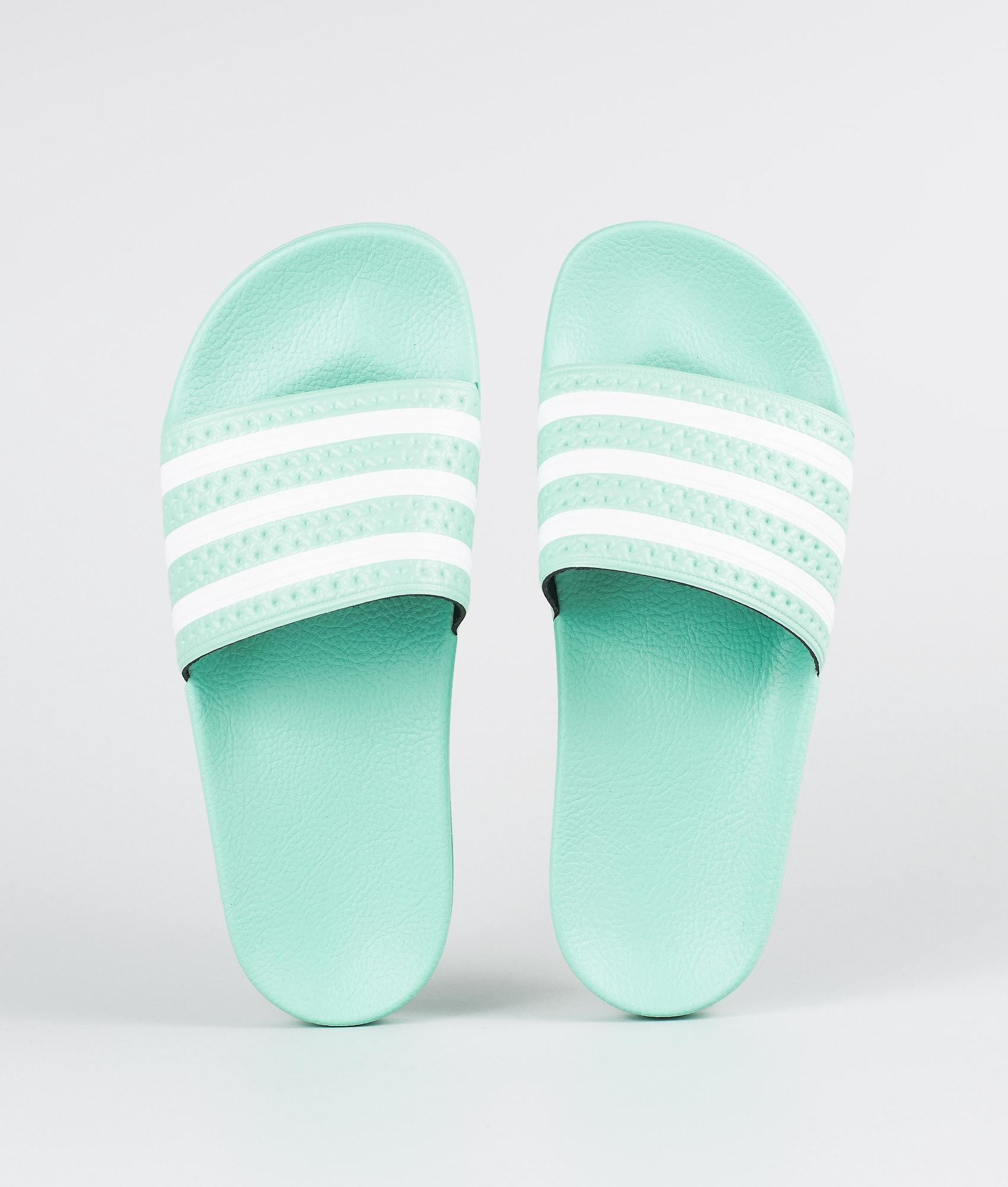 a48720f53749 Adidas Originals Adilette Sandal Clear Mint Clear Mint Ftwr White ...