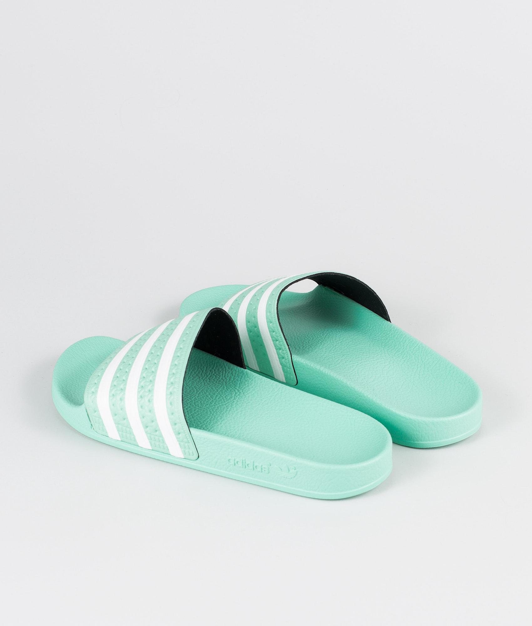 dbf0e763cd75 Adidas Originals Adilette Sandal Clear Mint Clear Mint Ftwr White ...