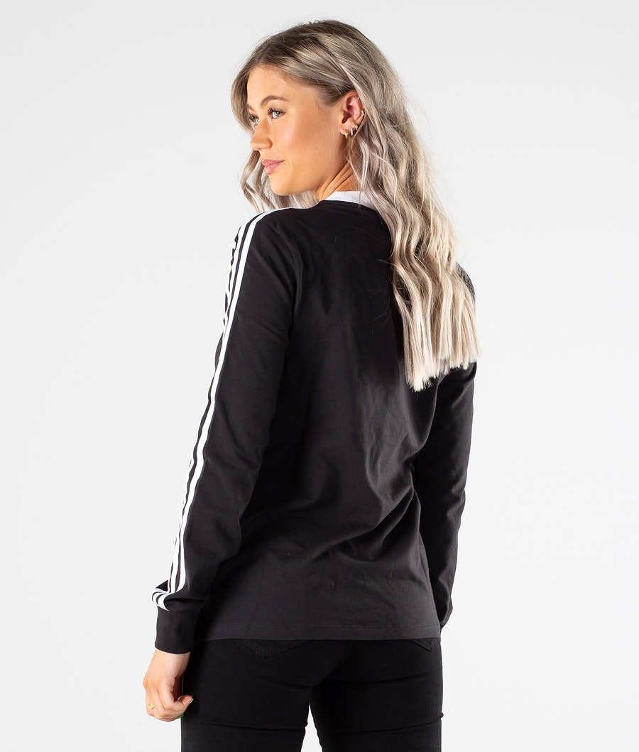 Adidas Originals 3-Stripes Longsleeve Dam Black