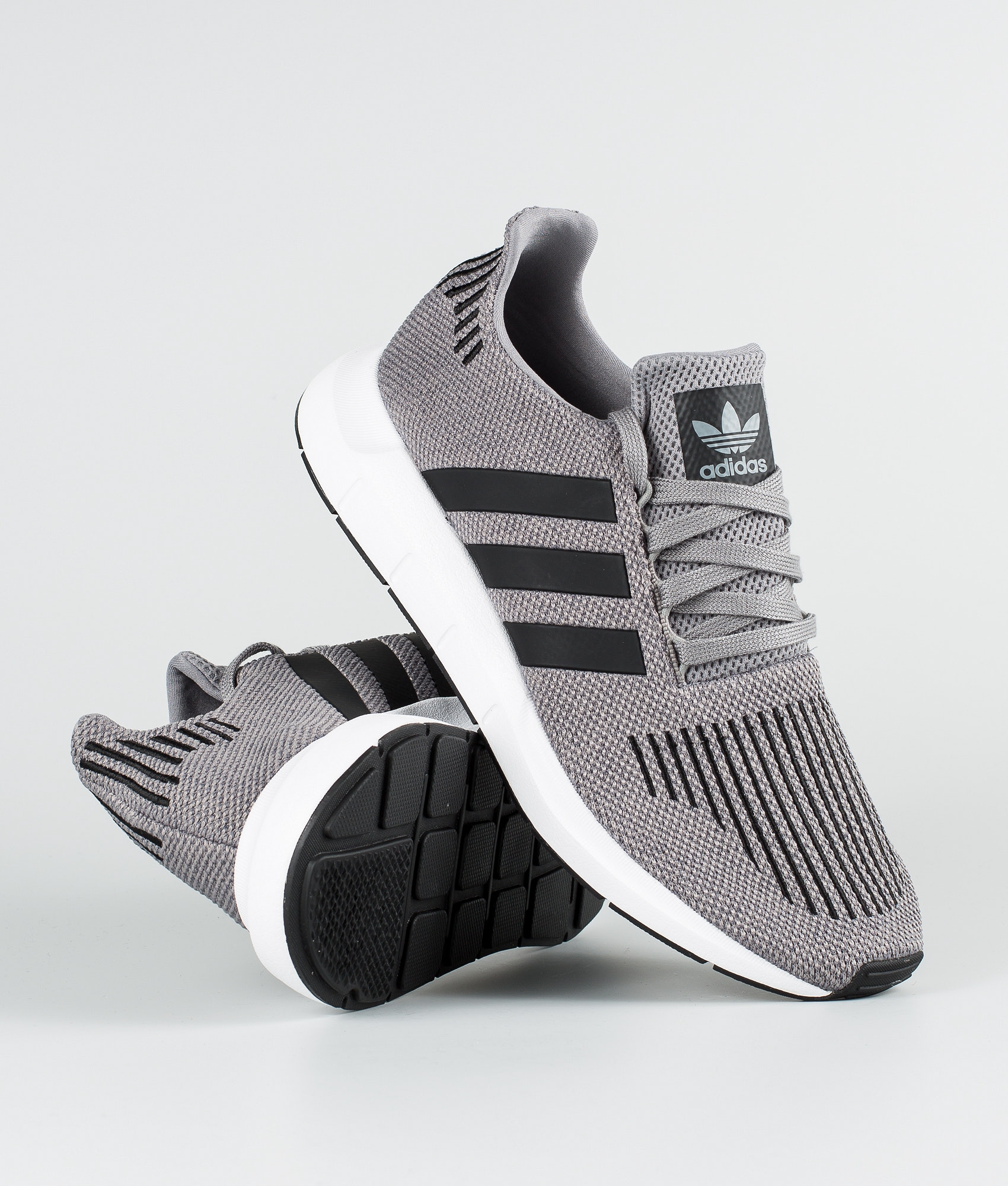 405abef8e Adidas Originals Swift Run Shoes Grey Heather Core Black Medium Grey ...