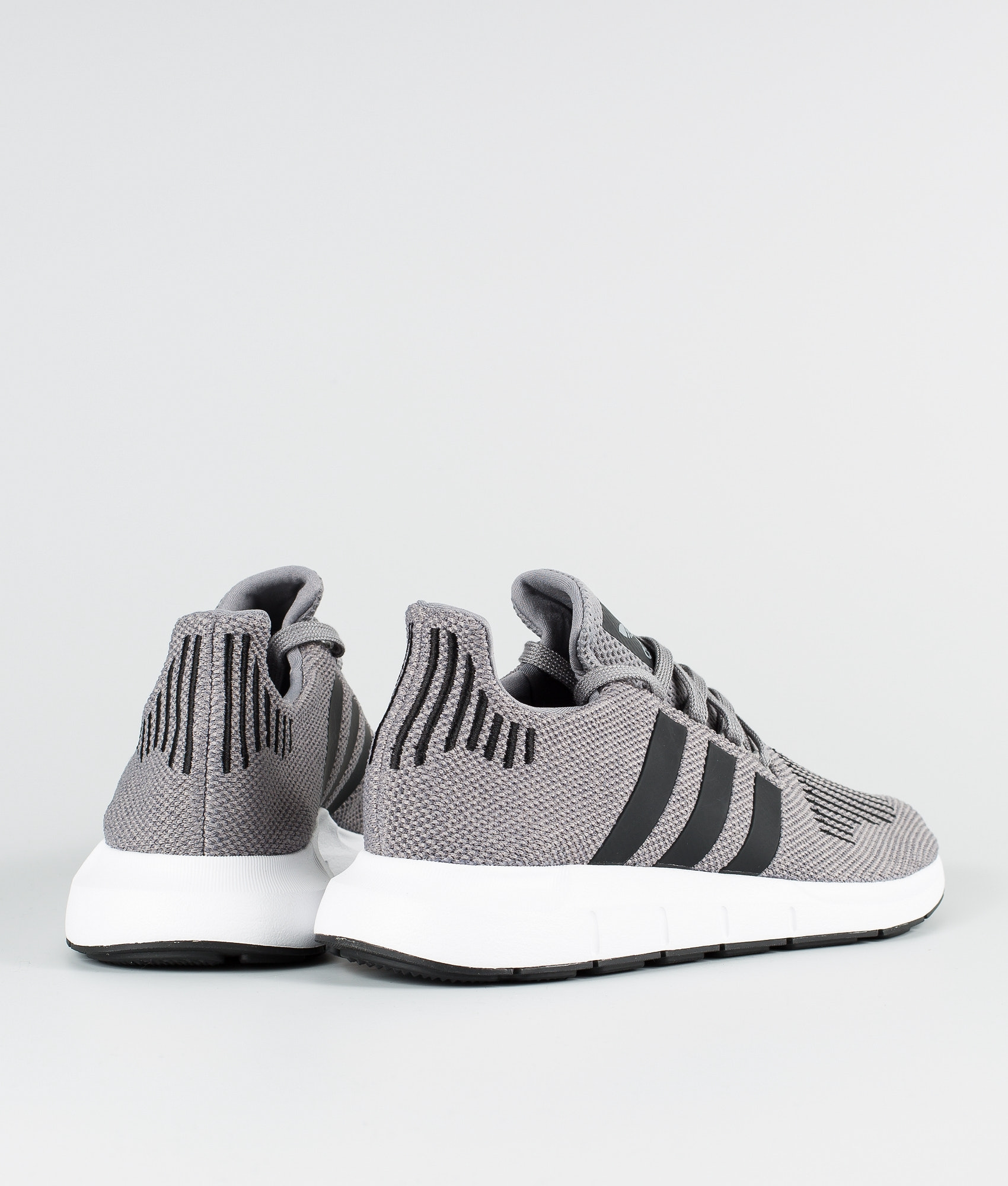 6c855d0f3b45f Adidas Originals Swift Run Shoes Grey Heather Core Black Medium Grey ...