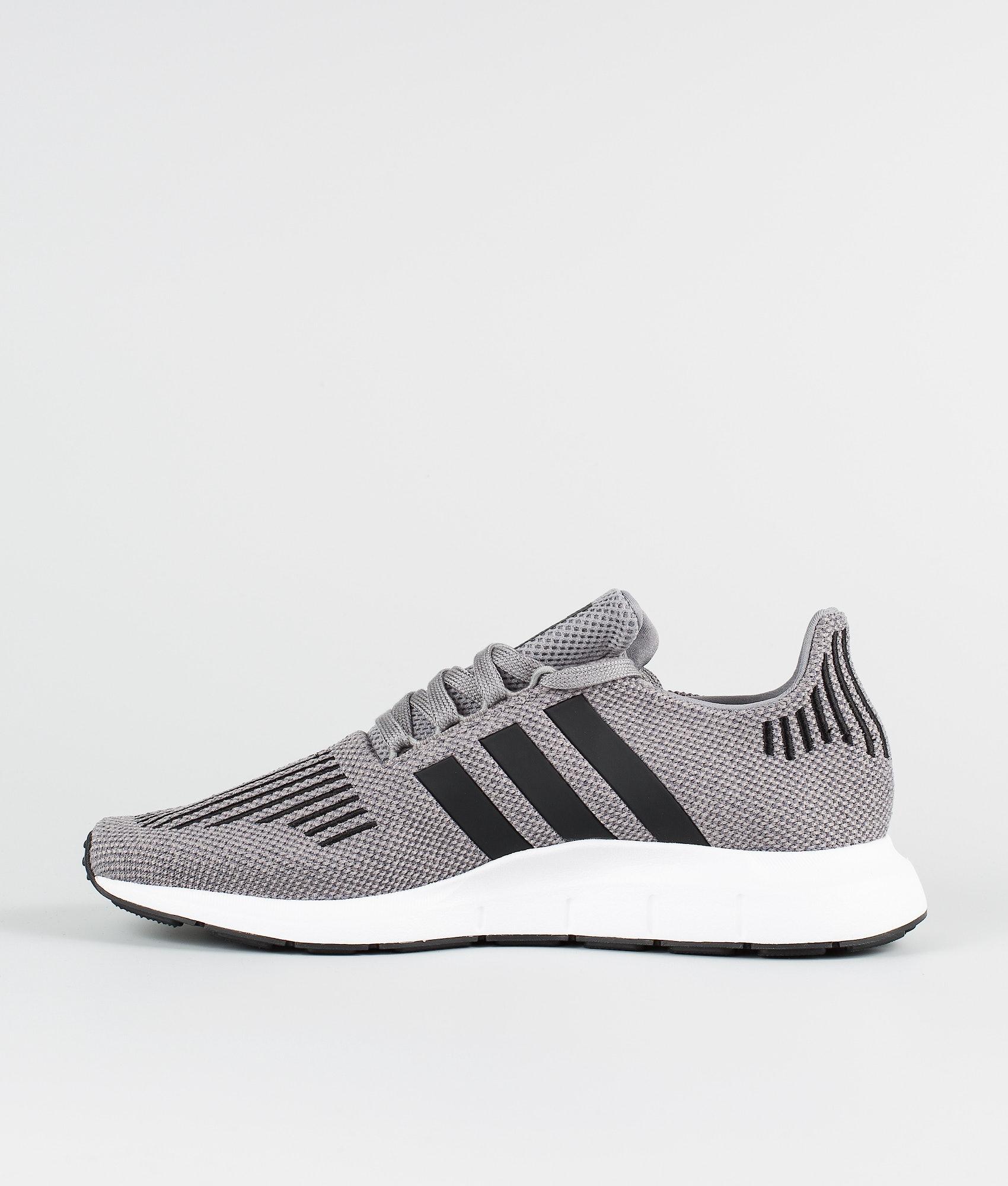 585cf57b9af07 Adidas Originals Swift Run Shoes Grey Heather Core Black Medium Grey ...