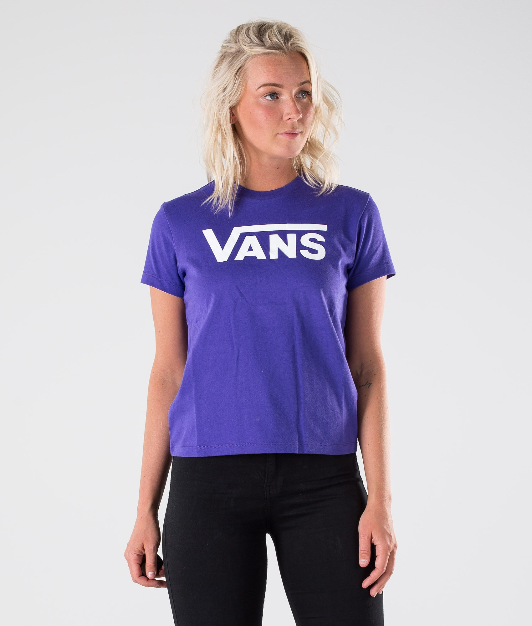 56b2f951fc1ce Vans Flying V Crew T-shirt Evening Haze - Ridestore.com
