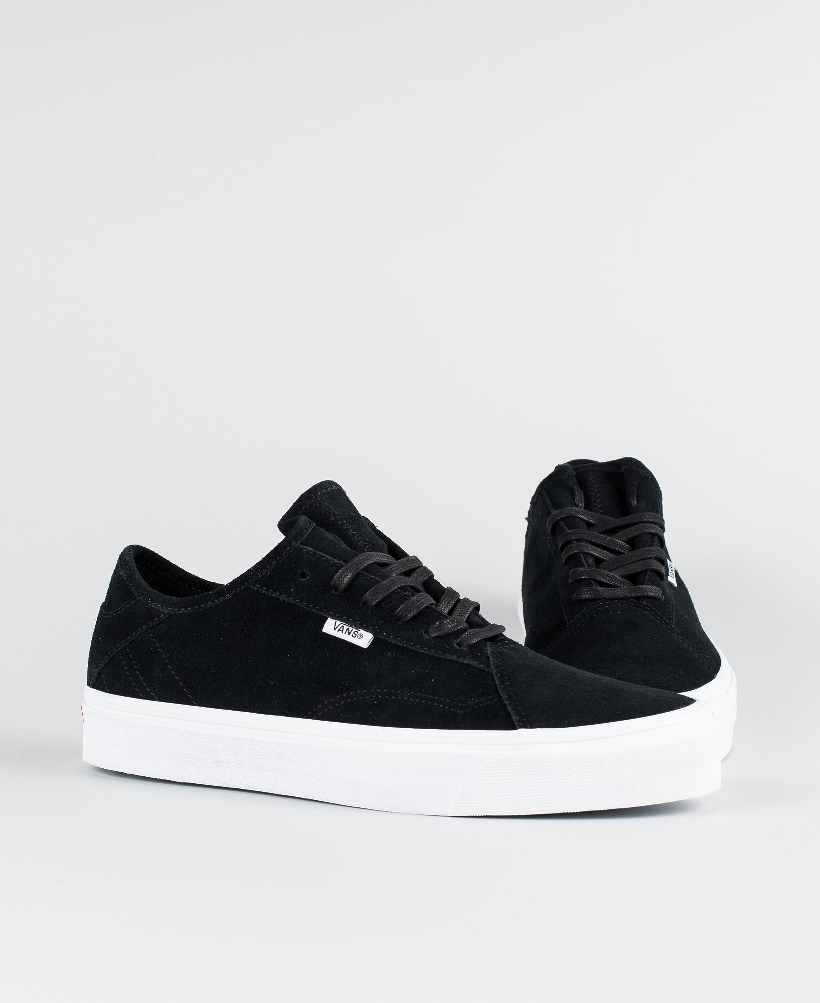 6d52f53856 Vans Diamo Ni Shoes (Suede) Black True White - Ridestore.com