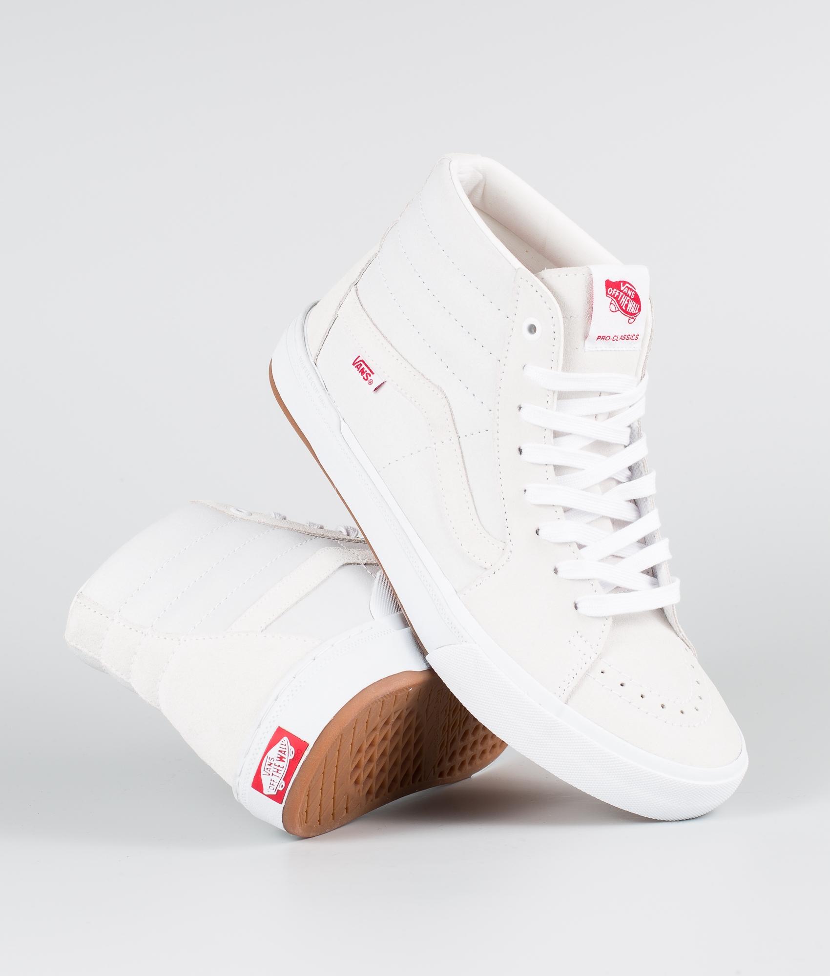 Vans Sk8-Hi Pro Bmx Shoes (Scotty Cranmer) White
