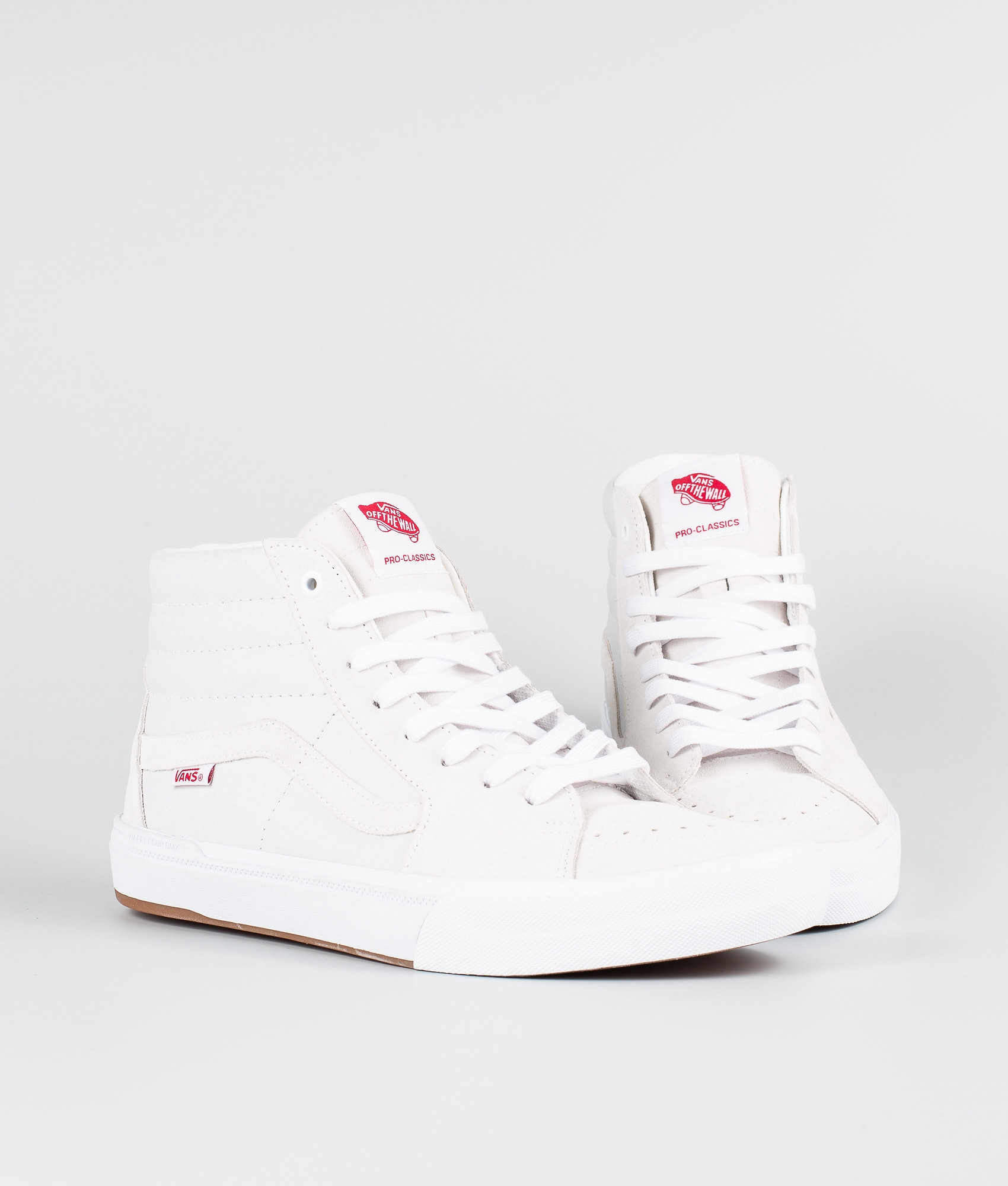 21dcc0e99f Vans Sk8-Hi Pro Bmx Shoes (Scotty Cranmer) White - Ridestore.com