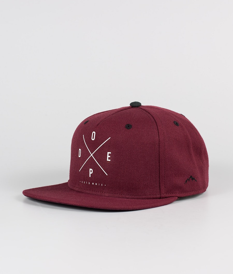 Dope 2X-UP Caps Burgundy