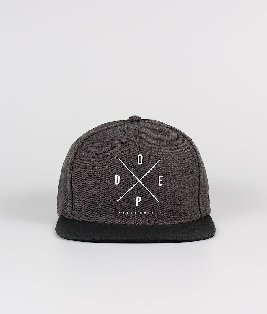 Dope 2X-UP Keps Dark Grey Black