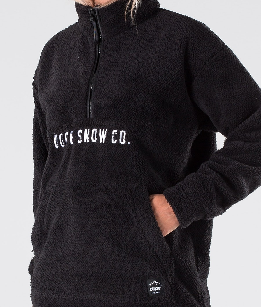 Dope Pile Sweatshirt Damen Black
