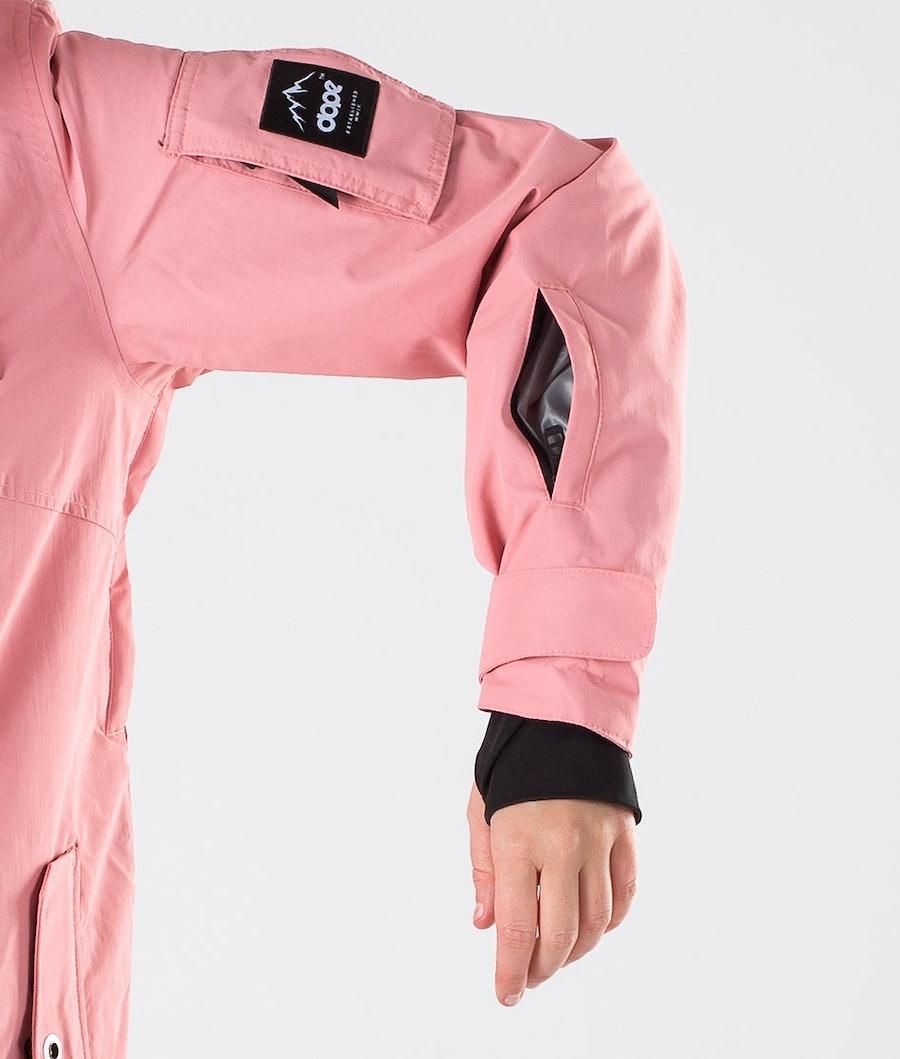 Dope Adept W 18 Veste de Snowboard Femme Pink/White