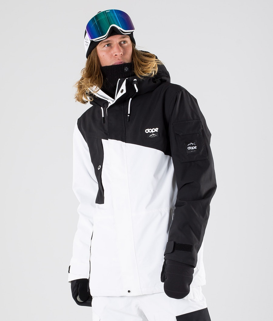 Dope Adept Renewed Snowboardjacka Black/White