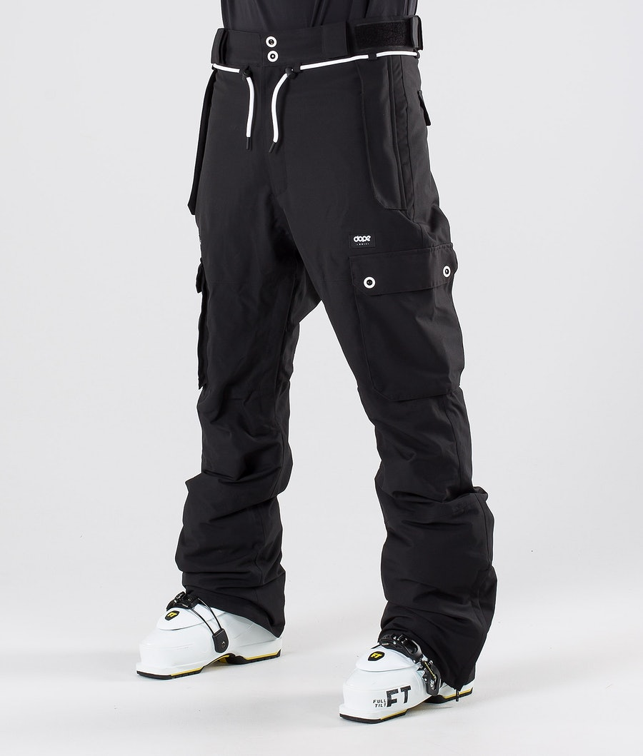Dope Iconic Pantalon de Ski Black