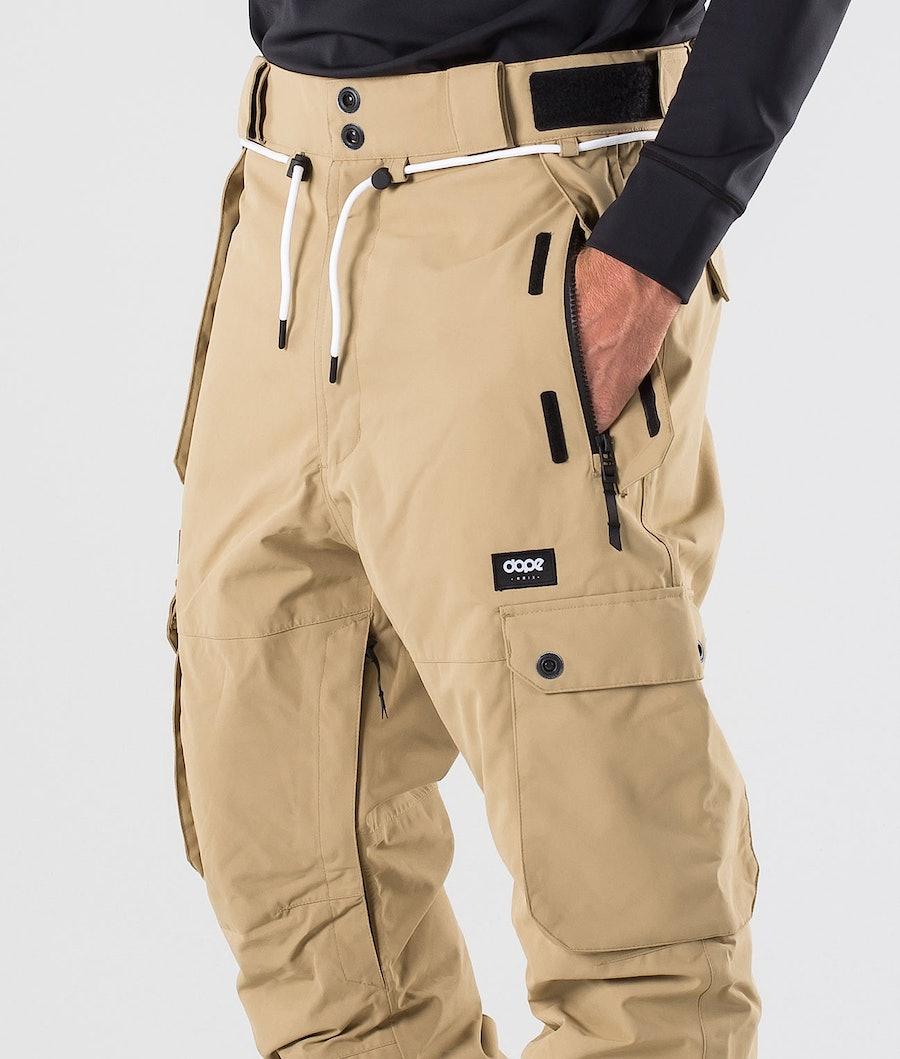 Dope Iconic Snow Pants Khaki