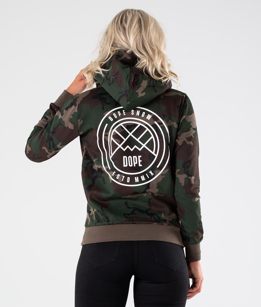 Dope Copain Lines Capuche Woodcamo