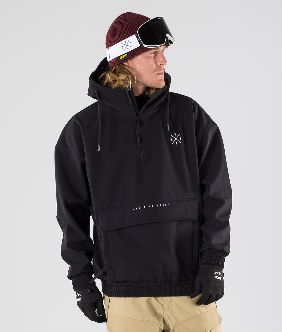 Dope Cyclone Ski Jacket Black