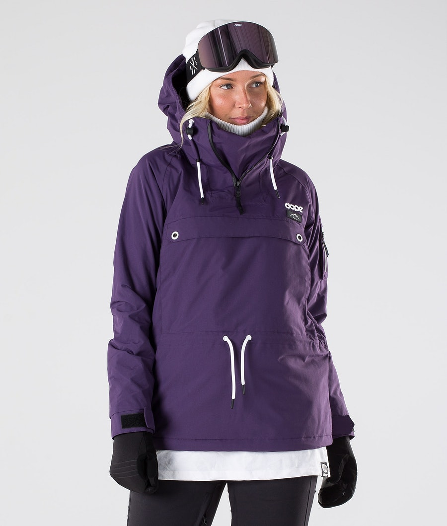 Dope Annok W Veste de Snowboard Grape