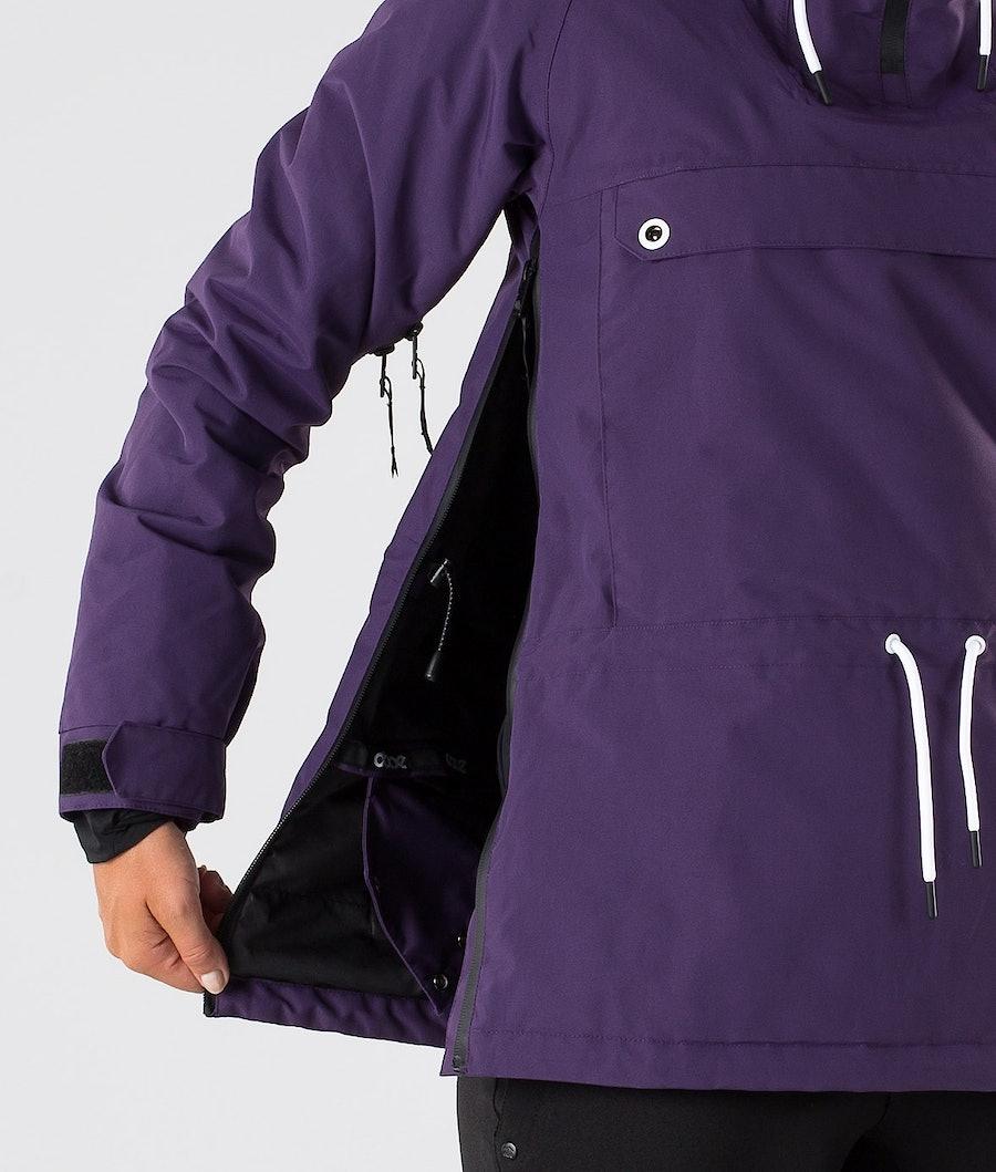 Dope Annok W Women's Ski Jacket Grape
