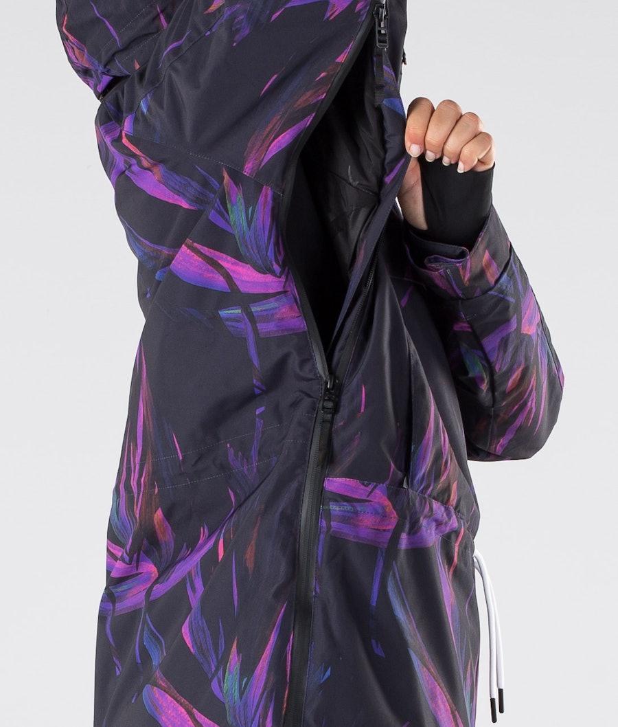 Dope Annok W Veste de Ski Femme Purple Foliage