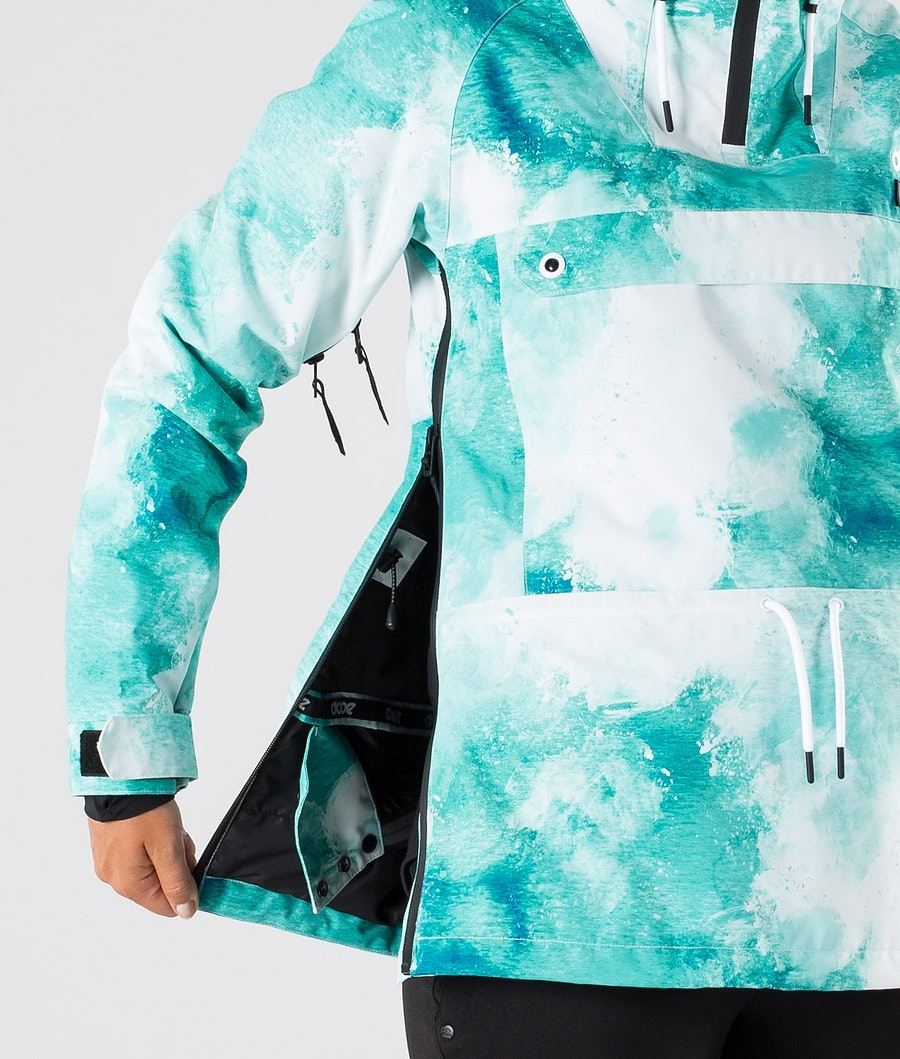 Dope Annok W Women's Ski Jacket Water White