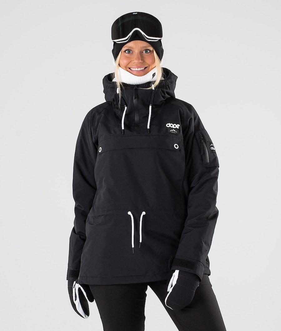 Dope Annok W Skijacke Damen Black