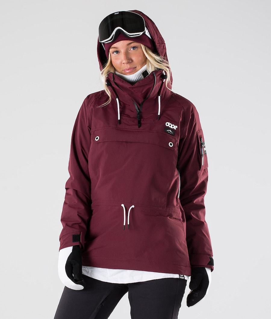 Dope Annok W Veste de Ski Burgundy