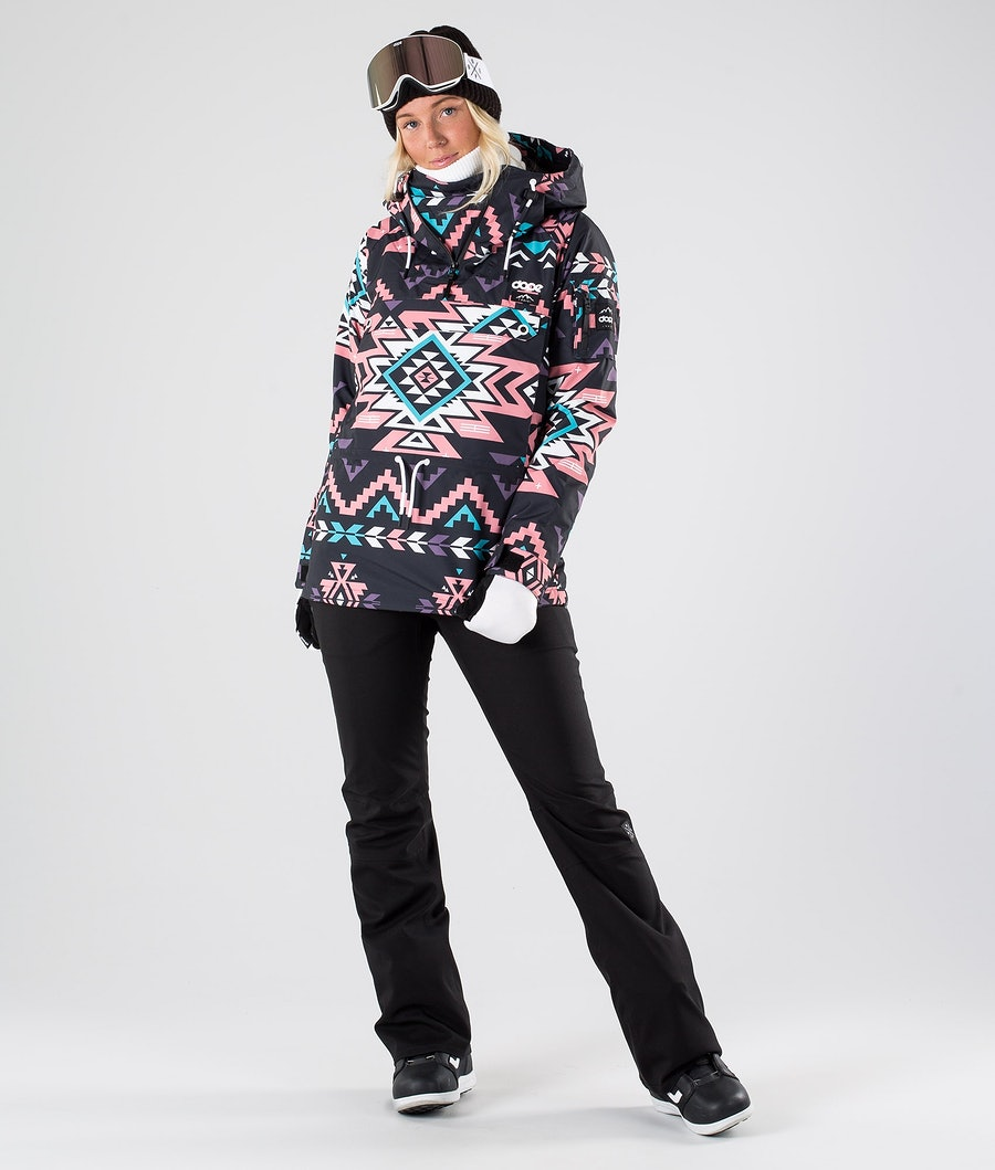 Dope Annok W Veste de Snowboard Femme Inka Pink