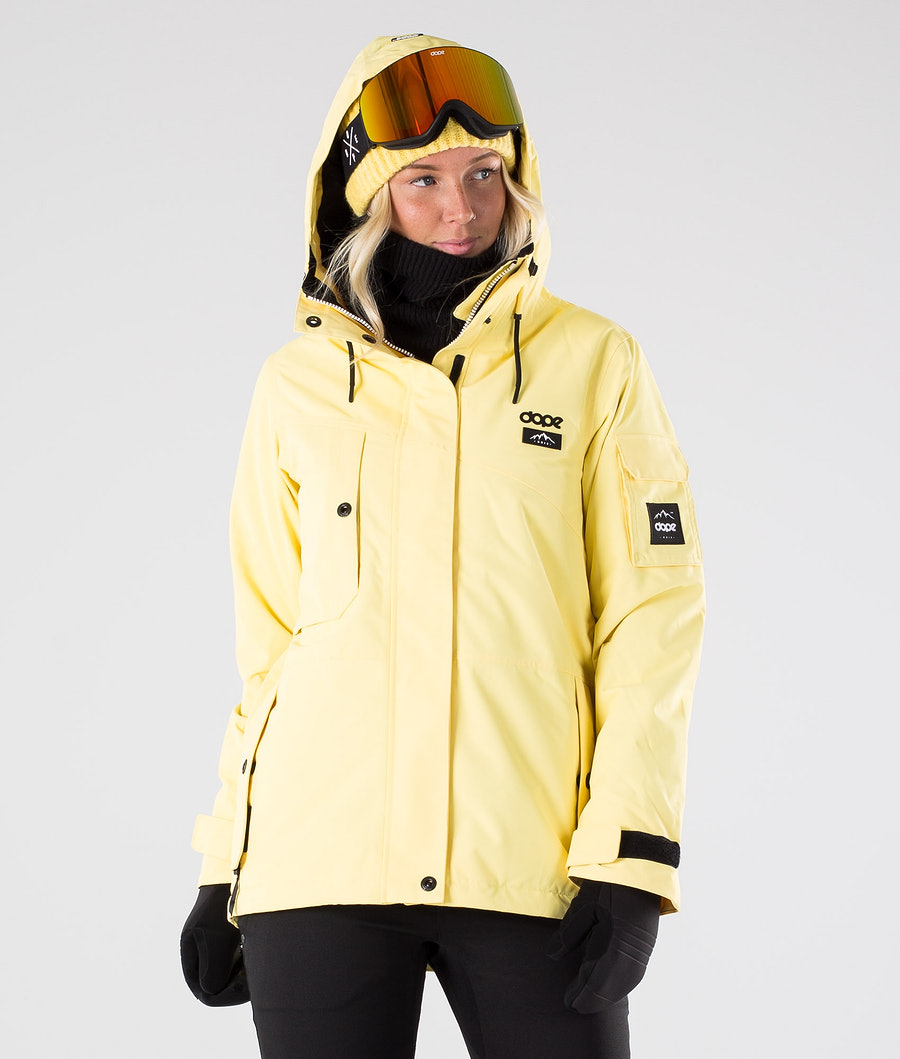 Dope Adept W Snowboard Jacket Yellow