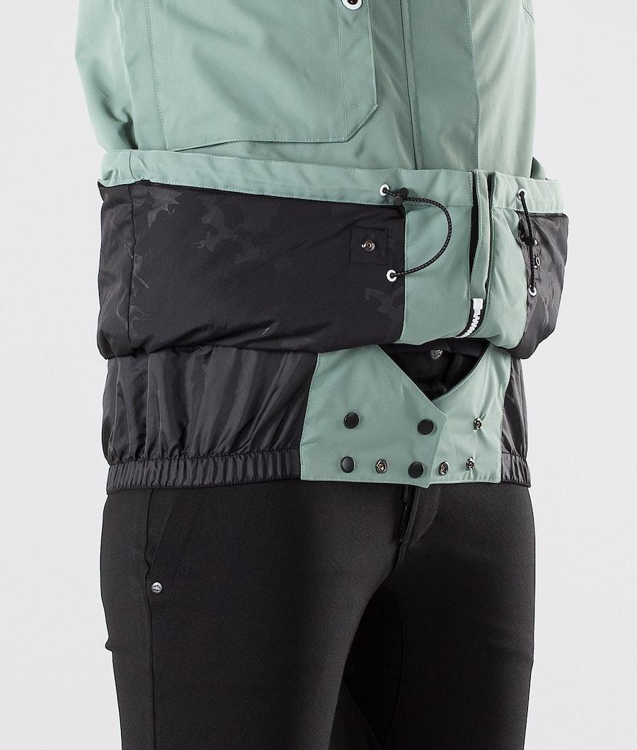 Dope Adept W Veste de Ski Femme Faded Green