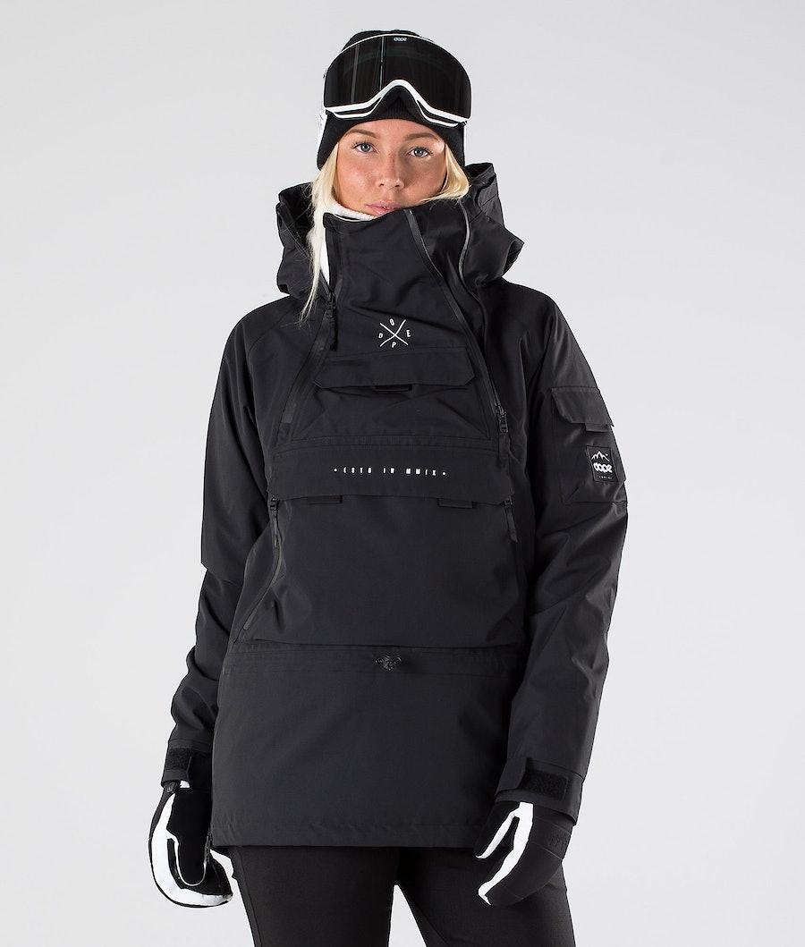 Dope Akin W Ski jas Black