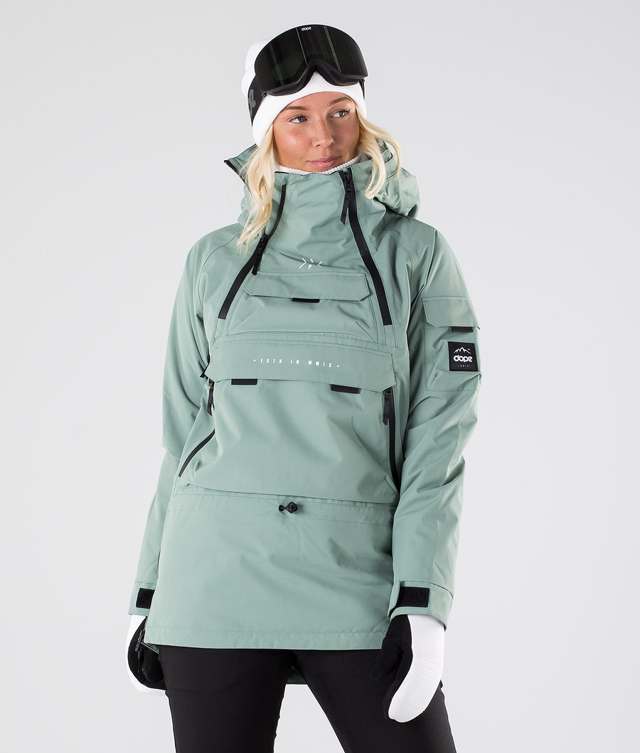 Dope Akin W Veste de Ski Faded Green