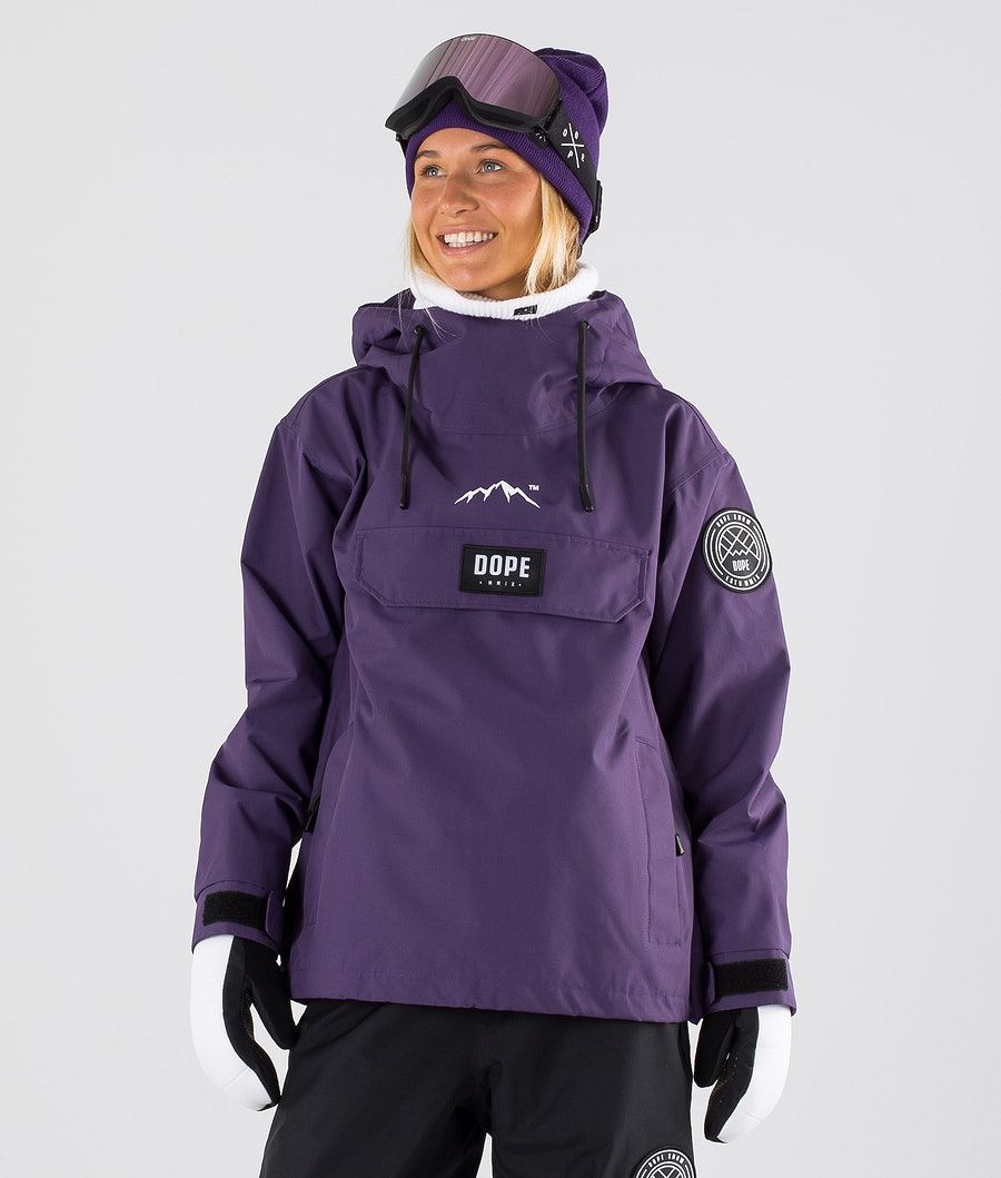 Dope Blizzard W Veste de Snowboard Grape