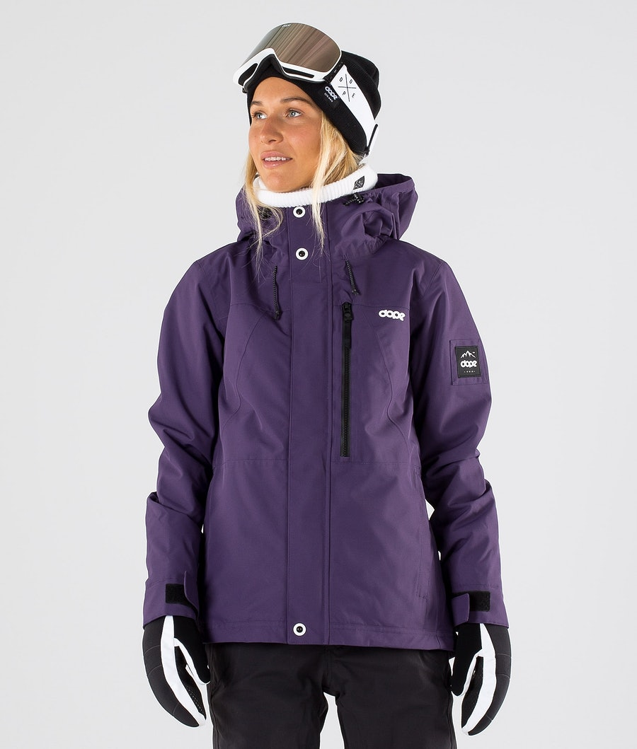Dope Divine Ski Jacket Grape