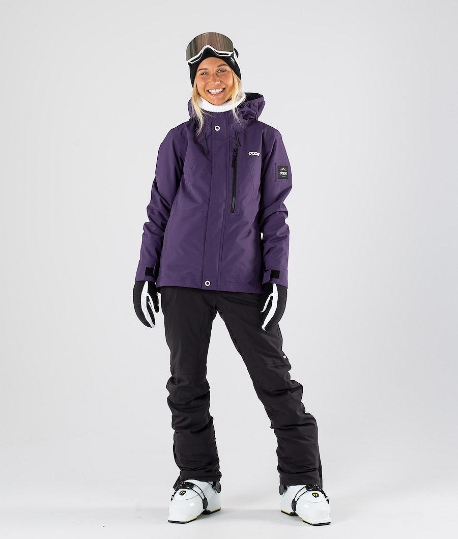 Dope Divine Veste de Ski Femme Grape