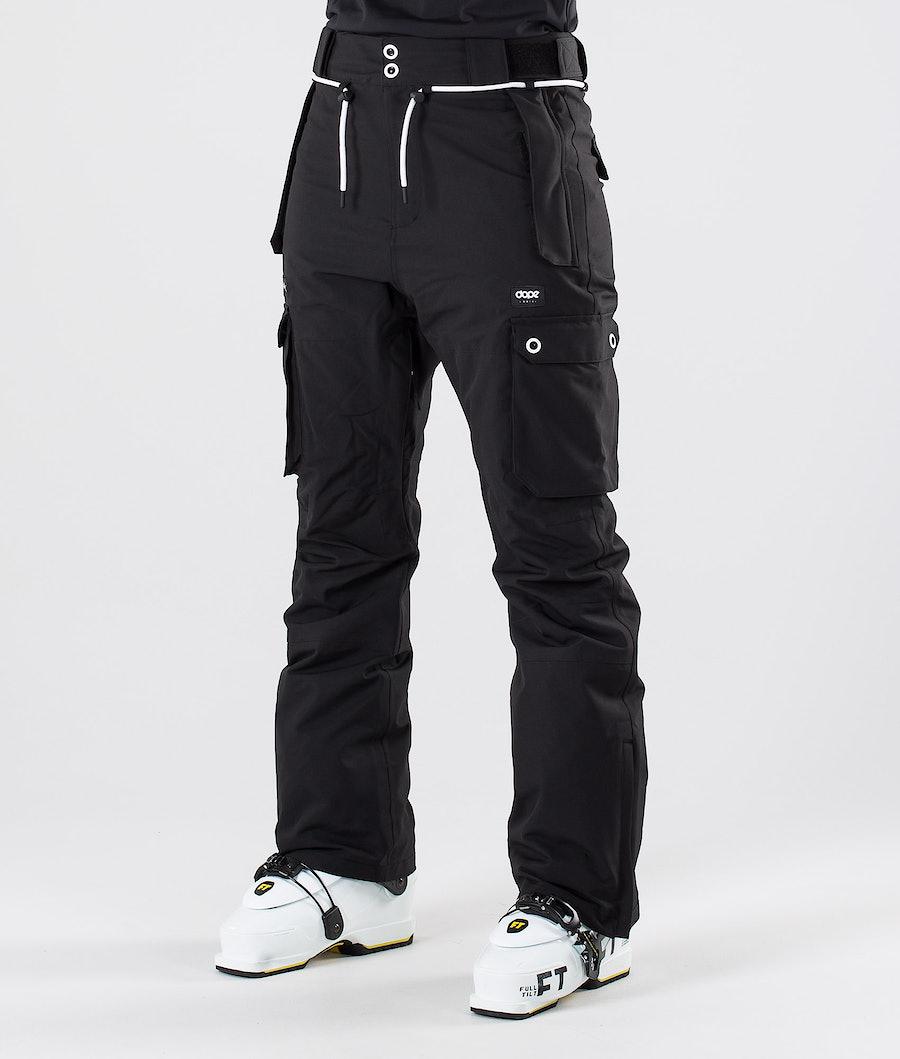 Dope Iconic W Pantaloni da sci Black