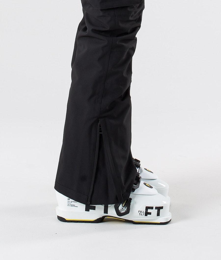 Dope Iconic W Pantalon de Ski Femme Black
