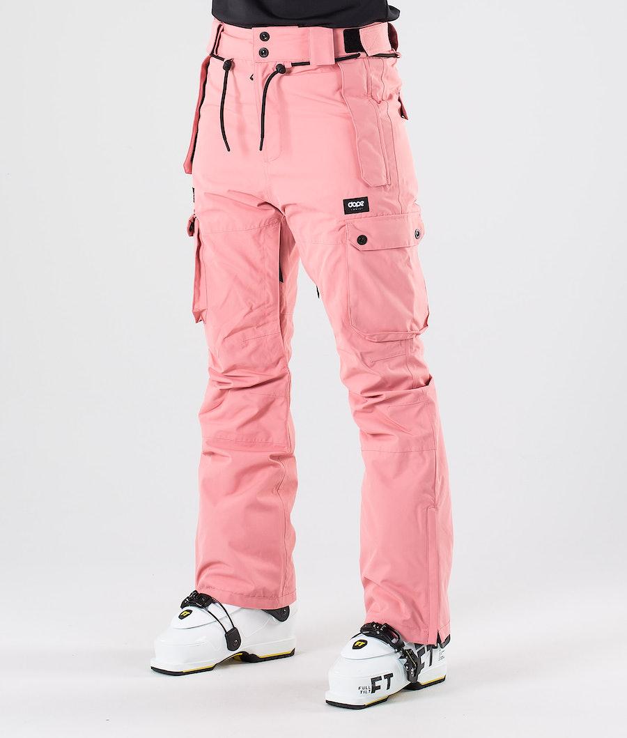 Dope Iconic W Pantalon de Ski Pink